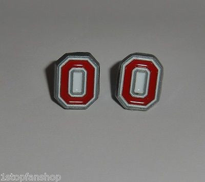 "Ohio State Buckeyes Stud Earrings (""O"") NCAA"