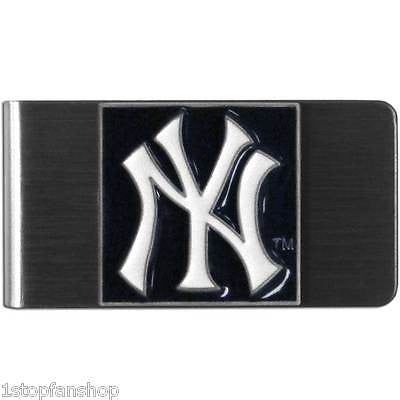 New York Yankees Stainless Steel Money Clip (MLB)