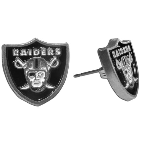Oakland Raiders Stud Earrings (NFL)