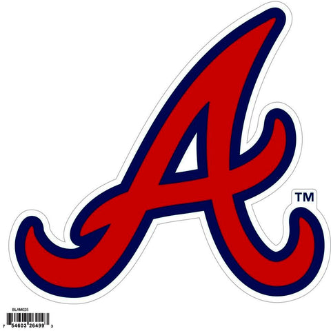 Atlanta Braves Licensed Outdoor Rated Magnet (MLB)