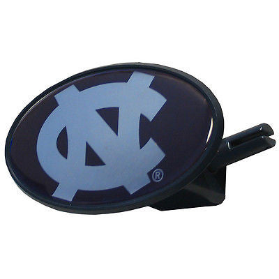 North Carolina Tar Heels Durable Plastic Oval Hitch Cover (NCAA) Large