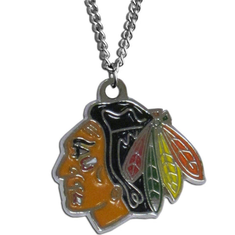 "Chicago Blackhawks 22"" Chain Necklace (NHL) LG"