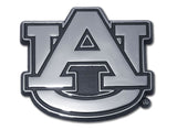 "Auburn Tigers Chrome Metal Auto Emblem (""AU"") NCAA"