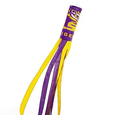 "LSU Tigers 60"" Polyester Wind Sock NCAA Licensed"
