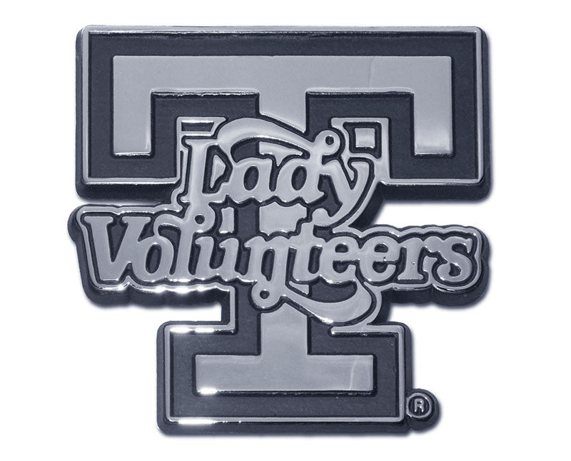 Tennessee Volunteers Chrome Metal Auto Emblem (Lady Vols) NCAA