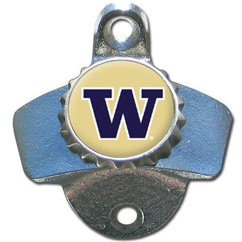Washington Huskies Wall Mount Bottle Opener NCAA Licensed