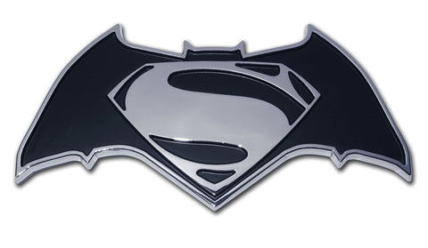 Batman v Superman Chrome Auto Emblem Dawn Of Justice DC Comics