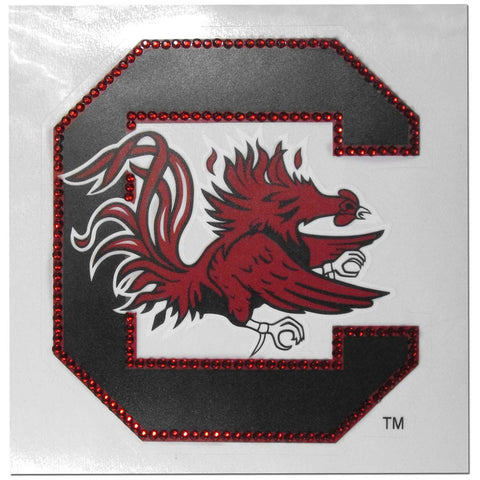 South Carolina Gamecocks Vinyl Bling Auto Decal (NCAA)