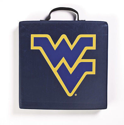 West Virginia Mountaineers Seat Cushion With Handle NCAA