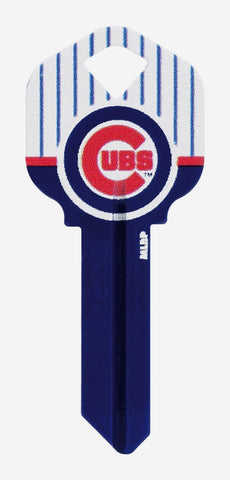 Chicago Cubs KW Team Metal House Key MLB Baseball