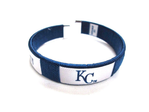Kansas City Royals Fan Band Bracelet MLB Licensed Baseball Jewelry