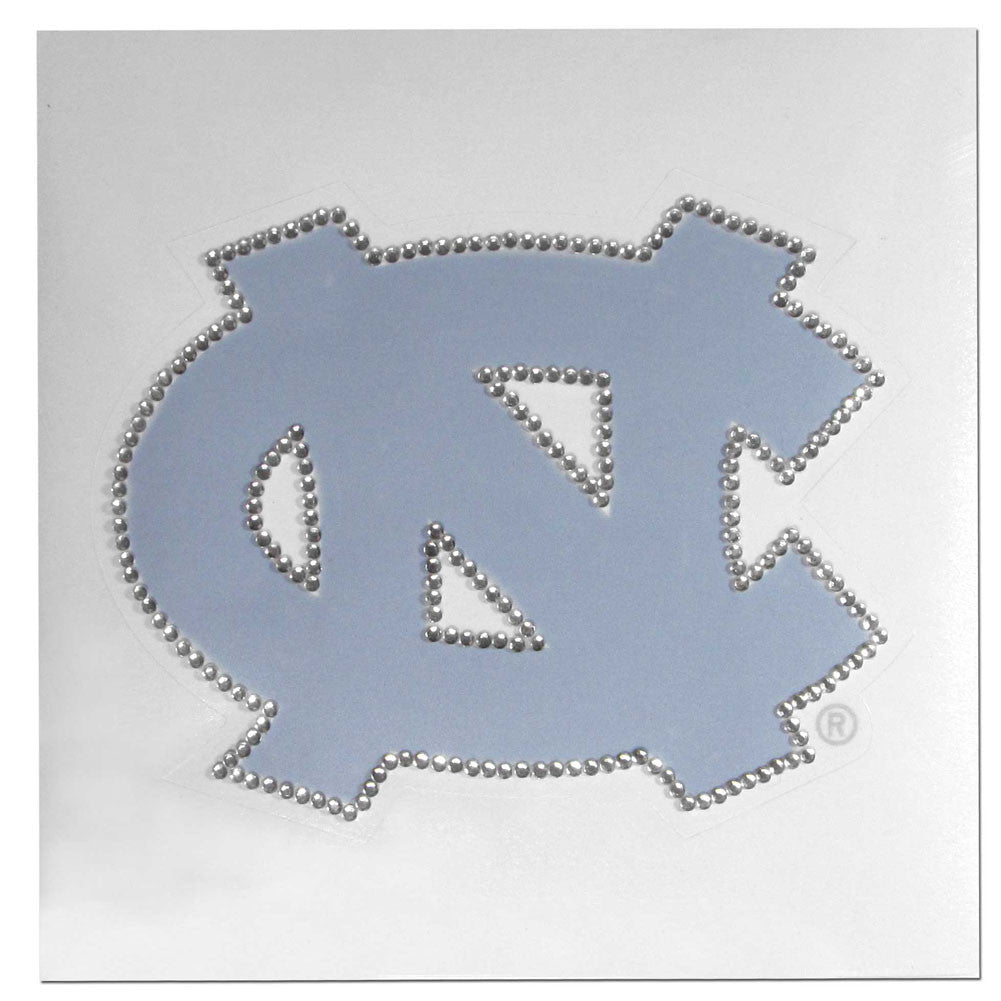 North Carolina Tar Heels Vinyl Bling Auto Decal (NCAA)