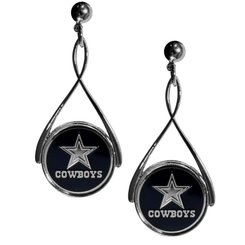 Dallas Cowboys Tear Drop Dangle Earrings (NFL)