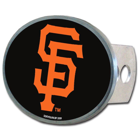 San Francisco Giants Metal Oval Hitch Cover (MLB)
