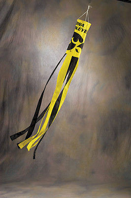 "Iowa Hawkeyes 60"" Polyester Wind Sock NCAA"