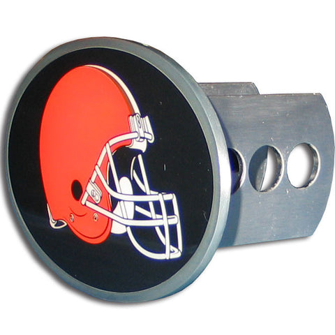 Cleveland Browns Metal Oval Hitch Cover (NFL)