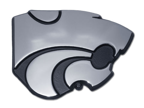 Kansas State Wildcats Chrome Auto Emblem (Powercat) NCAA
