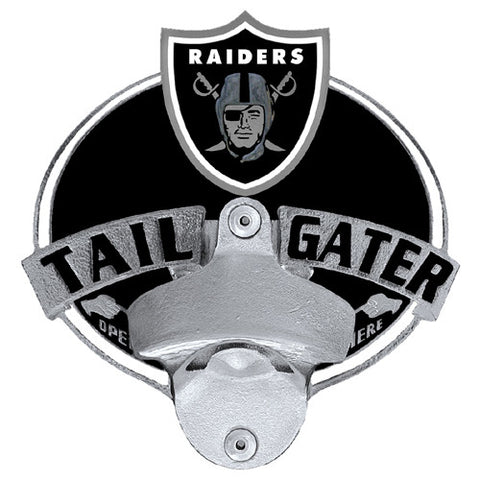 Oakland Raiders Tailgater Hitch Cover With Bottle Opener (NFL)
