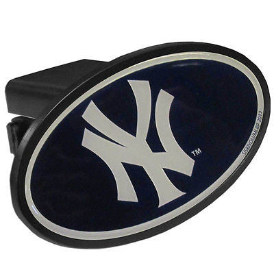 New York Yankees Durable Plastic Oval Hitch Cover (MLB)