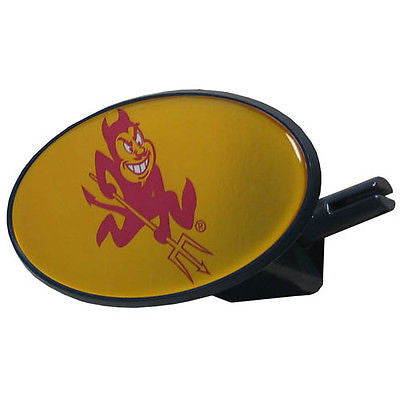 Arizona State Sun Devils Durable Plastic Oval Hitch Cover (NCAA)
