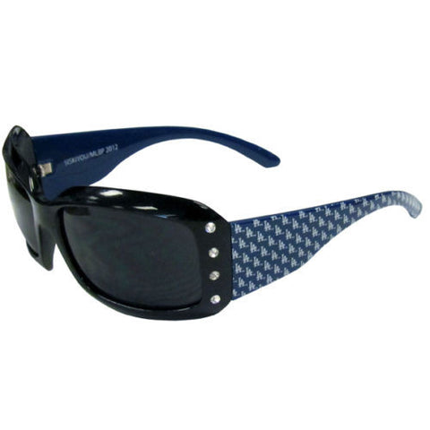 Los Angeles Dodgers Sunglasses (Designer w/Rhinestones) MLB