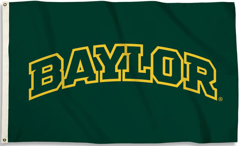 "Baylor Bears 3' x 5' Flag (""BAYLOR"" Logo on Green) NCAA"