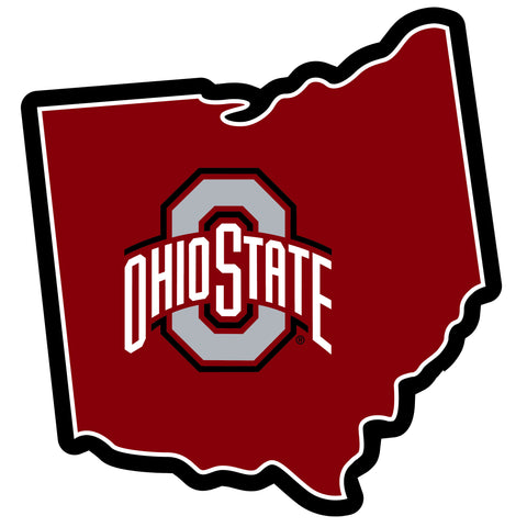 Ohio State Buckeyes Home State Magnet (NCAA) Ohio Shape