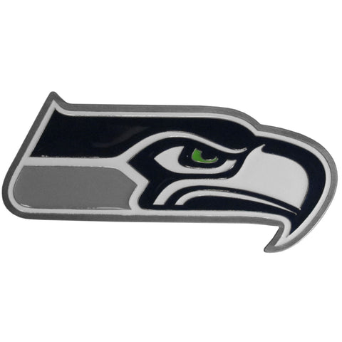Seattle Seahawks 3-D Metal Hitch Cover (NFL)