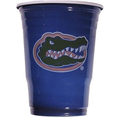 Florida Gators 18 count 18 oz Disposable Plastic Game Day Cups (NCAA)
