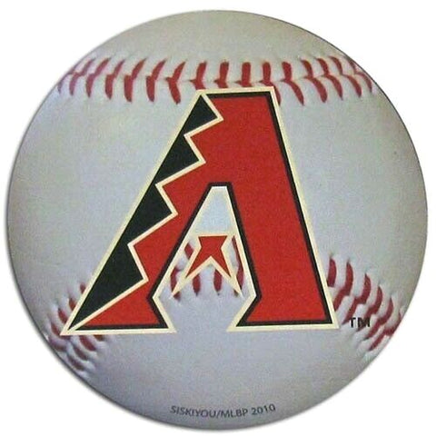 "Arizona Diamondbacks 4.5"" Baseball Magnet MLB Licensed"