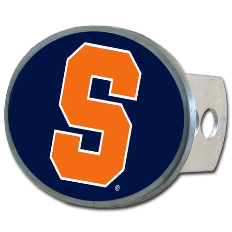 Syracuse Orange Metal Oval Hitch Cover NCAA Licensed
