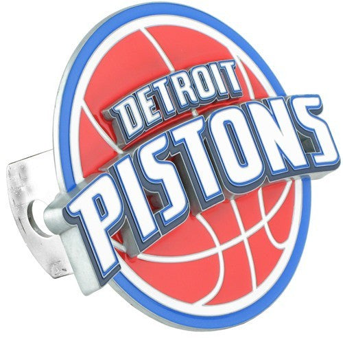 Detroit Pistons 3-D Metal Hitch Cover (NBA)