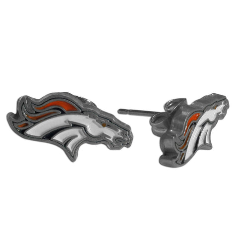 Denver Broncos Stud Earrings (NFL)