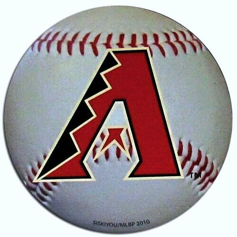 "Arizona Diamondbacks 3"" Baseball Magnet MLB Licensed"