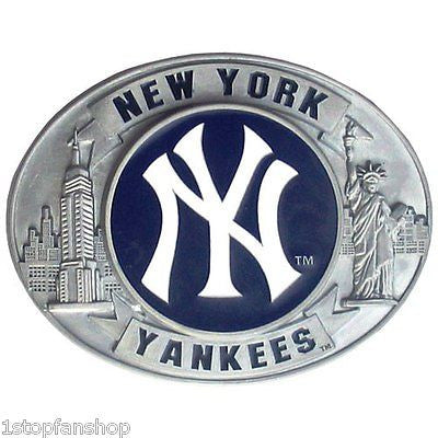 New York Yankees 3-D Metal Belt Buckle (Commemorative Edition) MLB
