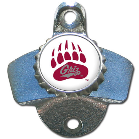 Montana Grizzlies Wall Mount Bottle Opener (NCAA)