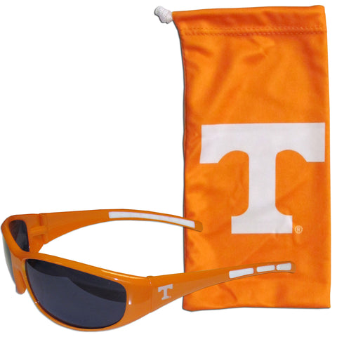 Tennessee Volunteers Wrap Sunglasses with Microfiber Bag (NCAA)