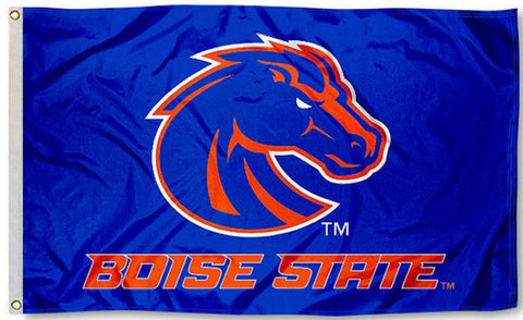 Boise State Broncos 3' x 5' Flag (Logo with Wordmark) NCAA