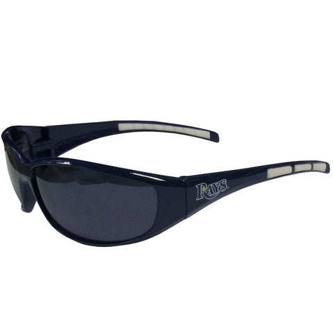 Tampa Bay Rays Wrap Sunglasses with Microfiber Bag (MLB) Baseball