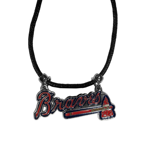 Atlanta Braves Cord Necklace (MLB Baseball) Licensed