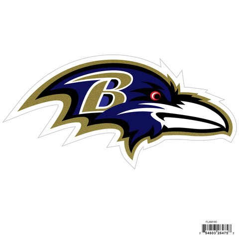 Baltimore Ravens Licensed Outdoor Rated Magnet (NFL) Football