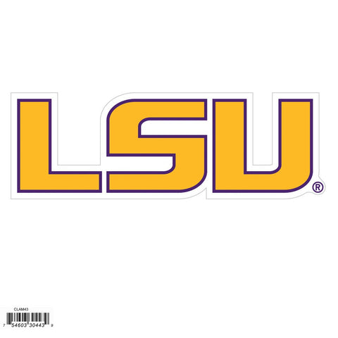 LSU Tigers Outdoor Rated Magnet NCAA Licensed