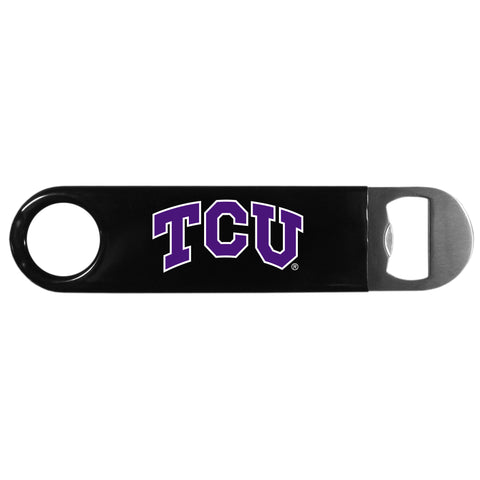 TCU Horned Frogs Heavy Duty Steel Bottle Opener (NCAA)
