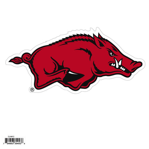 Arkansas Razorbacks Outdoor Rated Magnet NCAA Licensed