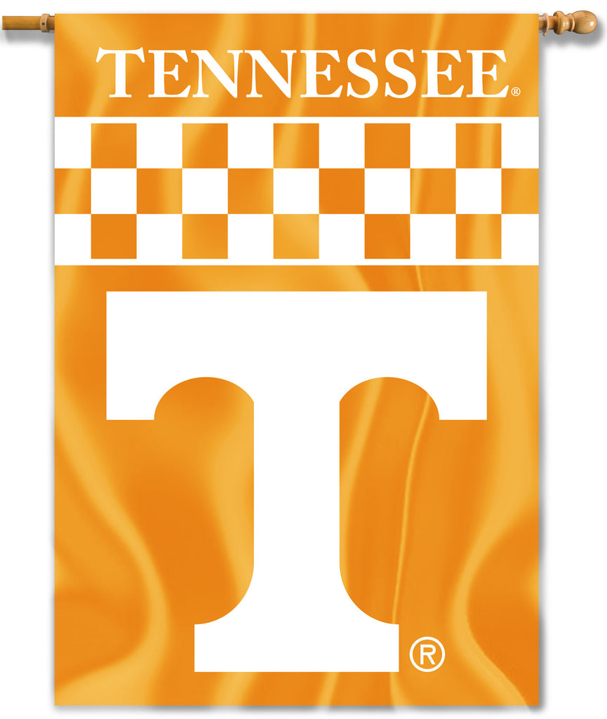 "Tennessee Volunteers 28"" x 40"" Two Sided House Banner NCAA"