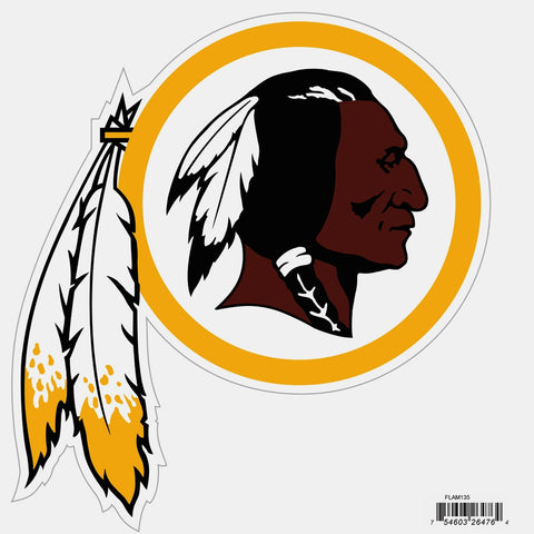 Washington Redskins Licensed Outdoor Rated Magnet (NFL) Football