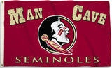 Florida State Seminoles 3' x 5' Flag (Man Cave) NCAA