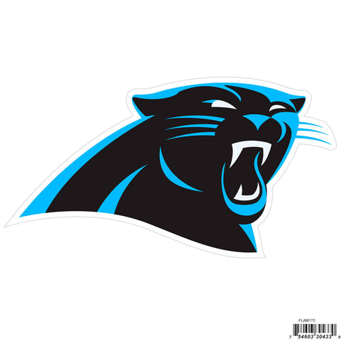 Carolina Panthers Licensed Outdoor Rated Magnet (NFL) Football