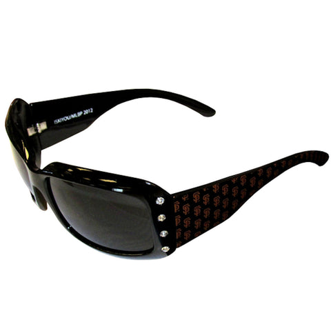 San Francisco Giants Sunglasses (Designer w/Rhinestones) MLB