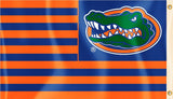 Florida Gators 3' x 5' Flag (Stripes w/ Gator) NCAA